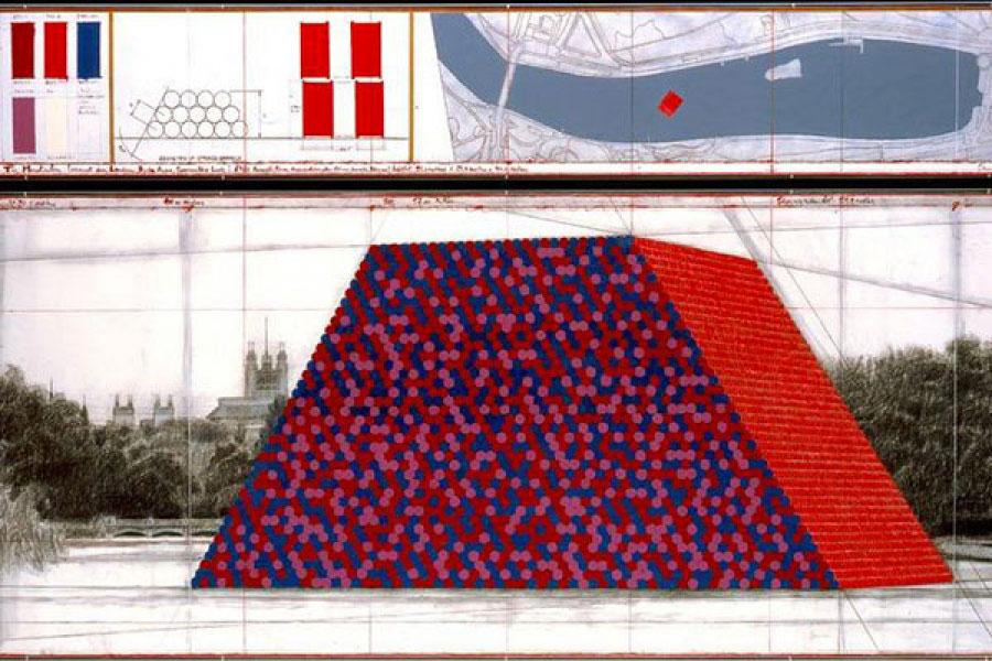 La nuova opera galleggiante di Christo sarà a Hyde Park