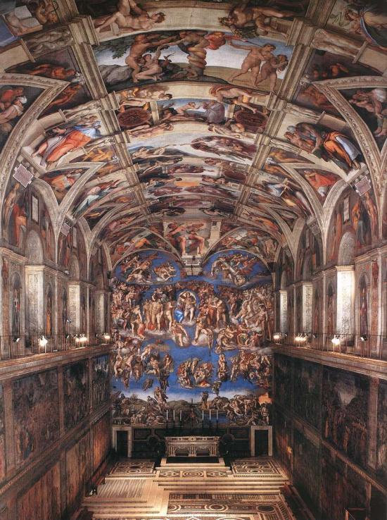 I disegni di Michelangelo per la Cappella Sistina in mostra in Georgia