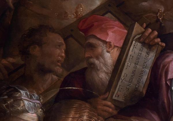 Firenze, nella pala di Giorgio Vasari scoperti i ritratti di Michelangelo e Rosso Fiorentino?