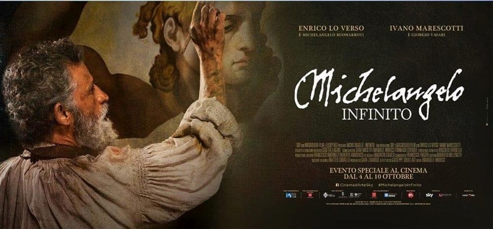 Michelangelo Infinito torna al cinema a grande richiesta dopo l'enorme successo. Occasione per chi lo ha perso