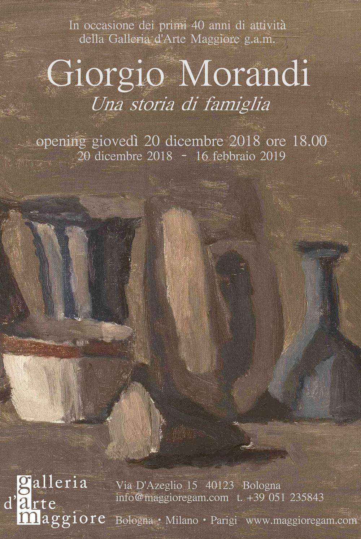A Bologna una grande retrospettiva dedicata a Giorgio Morandi