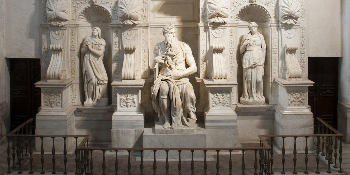 Il Mosè di Michelangelo adesso si può... toccare: inaugurato il percorso visivo-tattile