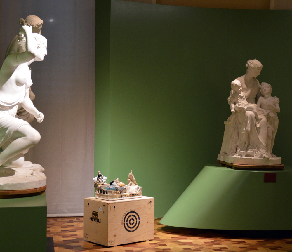 Uguali Disuguali: a Carrara l'arte contemporanea dialoga con i maestri neoclassici e romantici