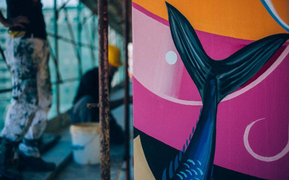 Il più grande murales eco-sostenibile d'Europa sarà a Roma