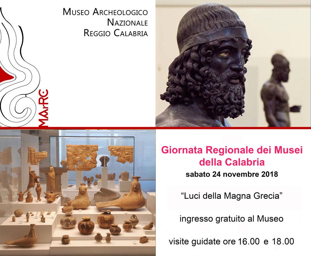 Visite guidate gratuite al Museo Archeologico Nazionale di Reggio Calabria per la Giornata Regionale dei Musei