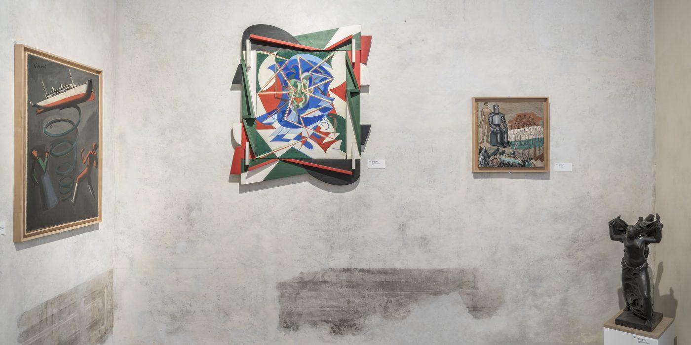 Roma: fino al 30 settembre la mostra sul primo Novecento nella collezione Jacorossi, dal simbolismo all'astrazione