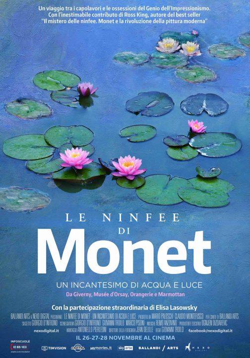 Le ninfee di Monet arrivano a novembre nei cinema italiani