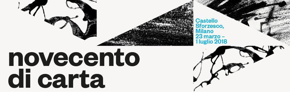 """Da Modigliani a Fontana, a Milano la mostra """"Novecento di carta. Disegni e stampe di maestri italiani"""""""