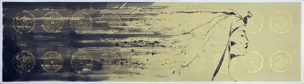 Omar Galliani e il suo profondo legame con l'Oriente raccontato in una mostra a Reggio Emilia