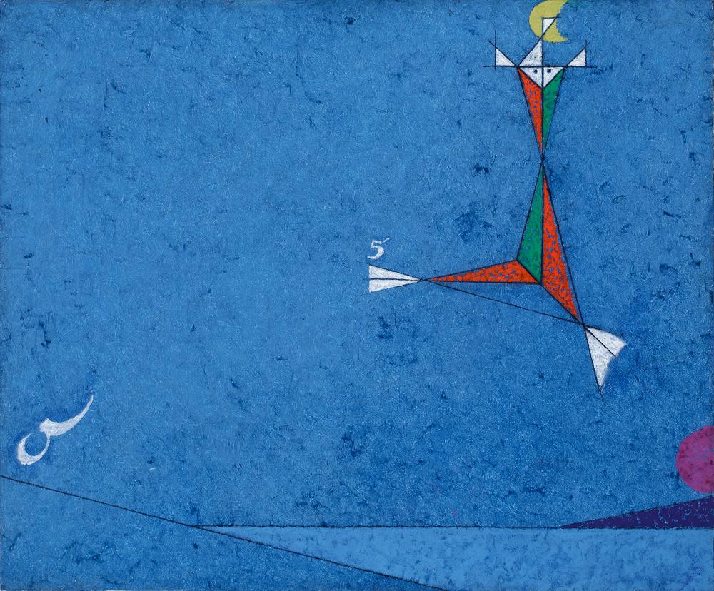 Osvaldo Licini protagonista di una grande mostra alla Peggy Guggenheim Collection di Venezia