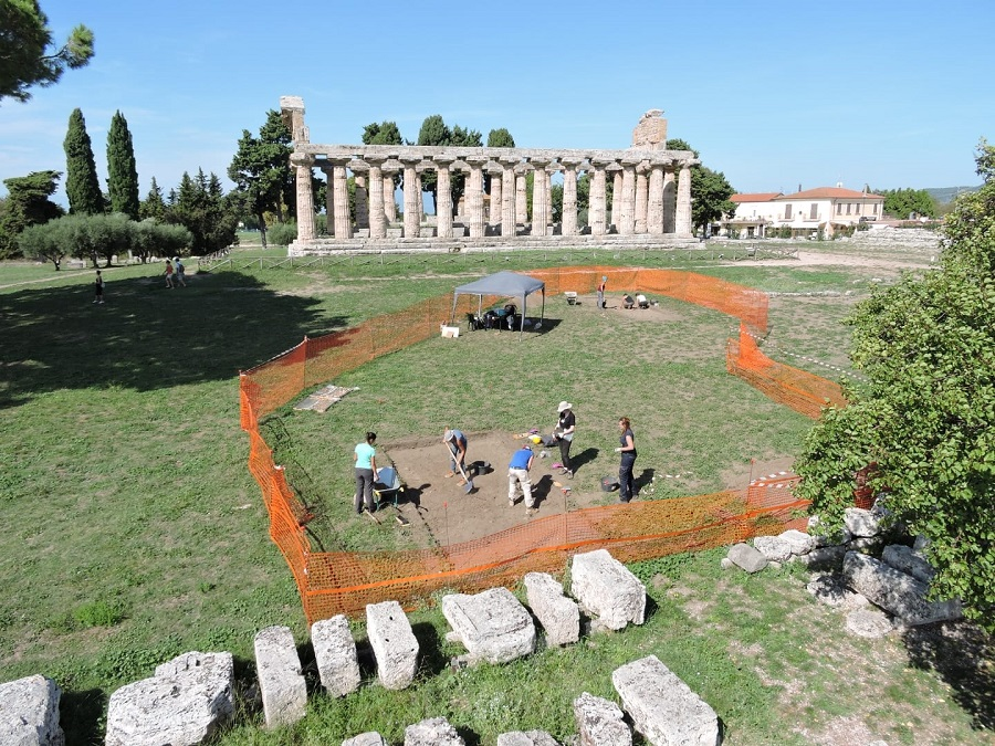 Paestum, tre scavi in corso nell'area archeologica