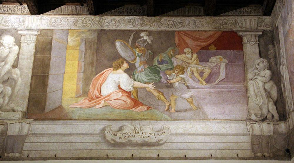 Riapre al pubblico il piano nobile del bolognese Palazzo Fava: visibile il primo grande ciclo di affreschi dei Carracci