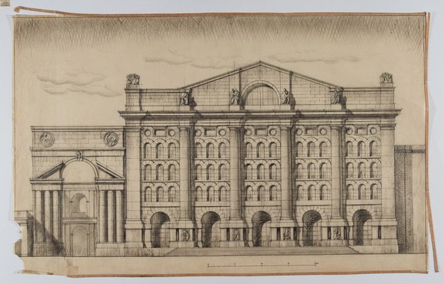 Una mostra racconta Milano vista da Paolo Mezzanotte, il grande architetto della Borsa