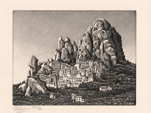 Escher è in mostra anche a Catanzaro: il grande artista subì il fascino della Calabria