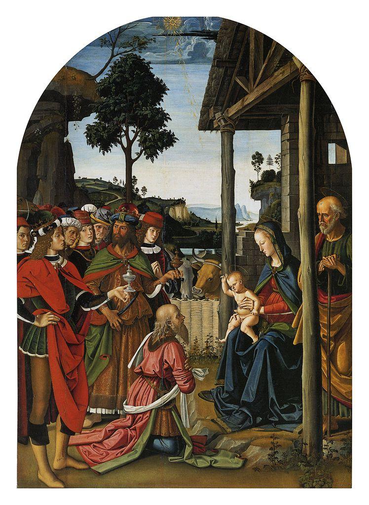 Milano, quest'anno l'ostensione natalizia tocca all'Adorazione dei Magi del Perugino