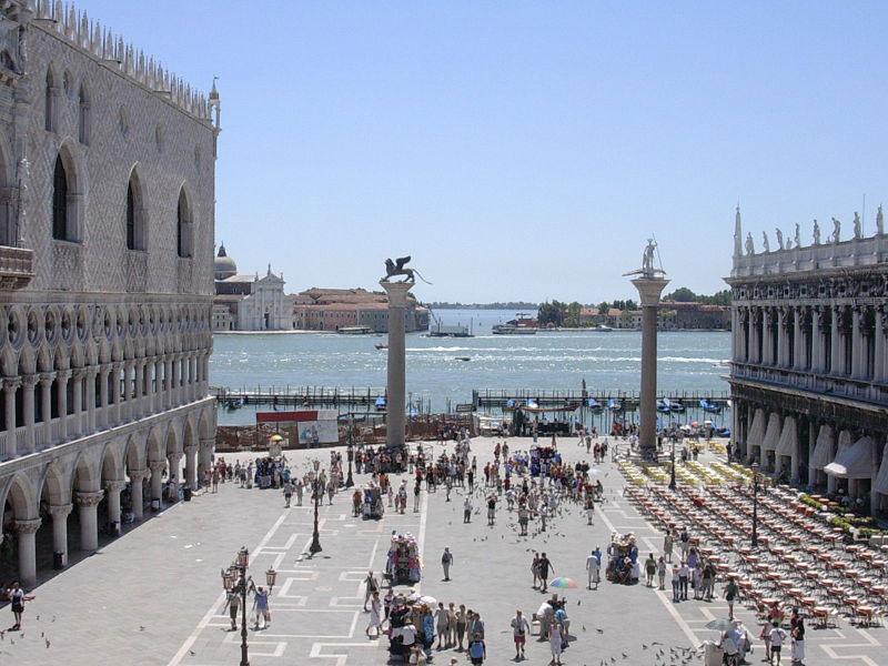 Alla ricerca della terza colonna di San Marco a Venezia