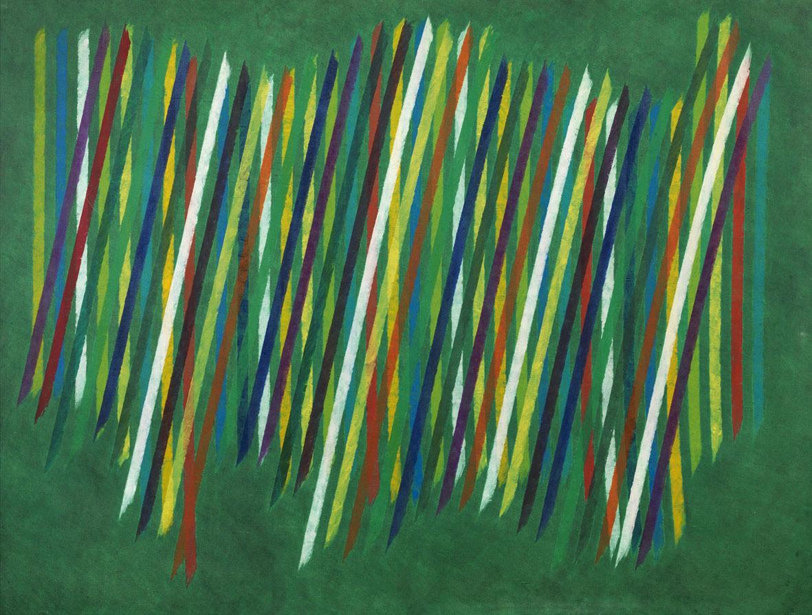 Dieci opere di Piero Dorazio esposte da Tornabuoni Arte a Milano
