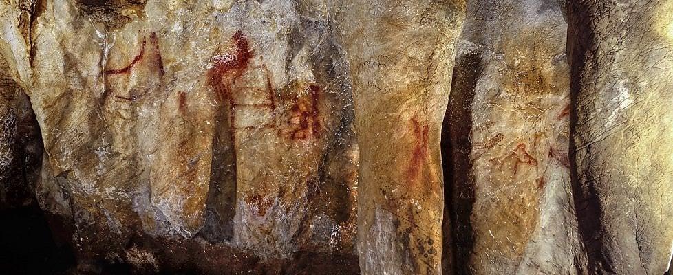 """Scoperte le più antiche pitture rupestri conosciute, furono i Neanderthal i primi """"artisti"""""""