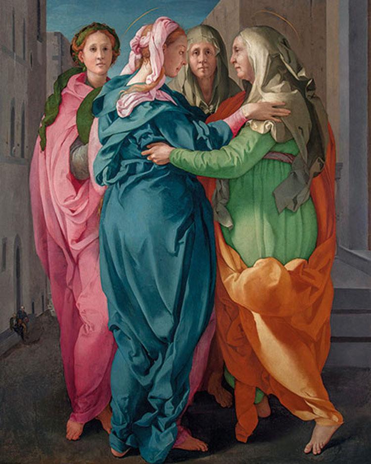 La Visitazione del Pontormo protagonista di una mostra alla Morgan Library & Museum di New York