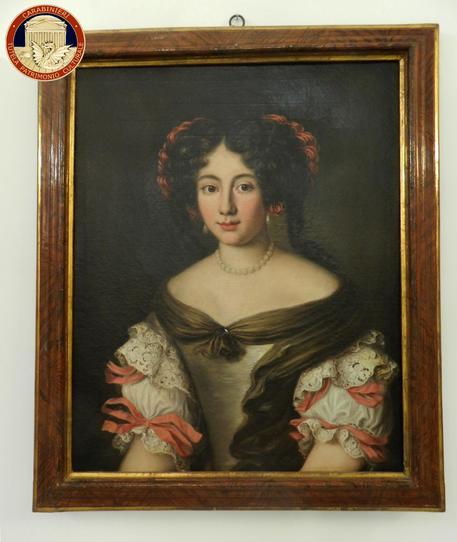 Palermo, i Carabinieri ritrovano un dipinto rubato oltre 30 anni fa a Palazzo Chigi di Ariccia