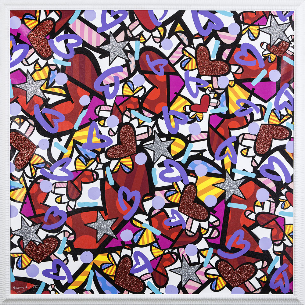 Art is for everyone: la personale di Romero Britto al Franciacorta Outlet Village