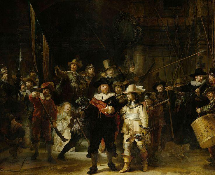 """Amsterdam, il Rijksmuseum organizza la diretta online del restauro della """"Ronda di notte"""" di Rembrandt"""