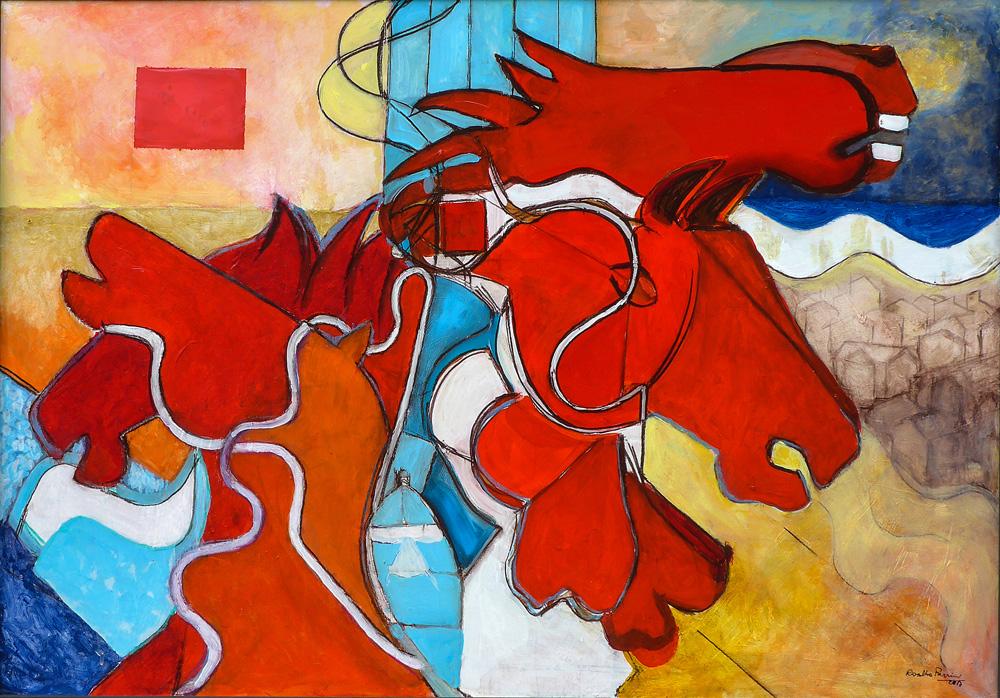 """Le """"Mutazioni"""" di Rosalba Parrini in mostra a Siena"""