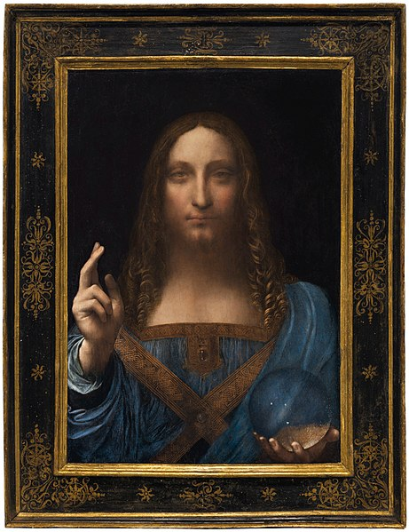 Rinviata l'esposizione del Salvator Mundi attribuito a Leonardo da Vinci al Louvre di Abu Dhabi