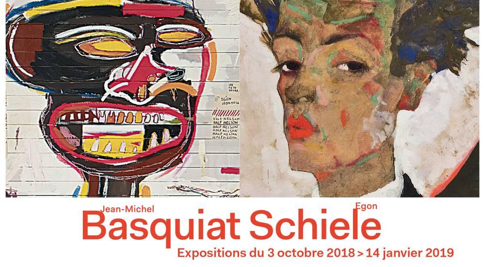 Schiele e Basquiat, la strana coppia in mostra alla Fondation Louis Vuitton di Parigi