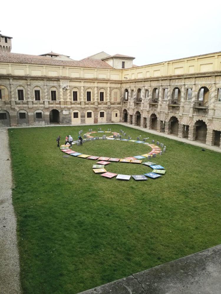 L'arte di Michelangelo Pistoletto al Palazzo Ducale di Mantova