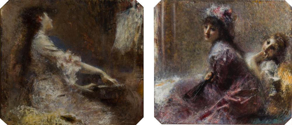 Due capolavori di Tranquillo Cremona riuniti dopo ottant'anni a Milano