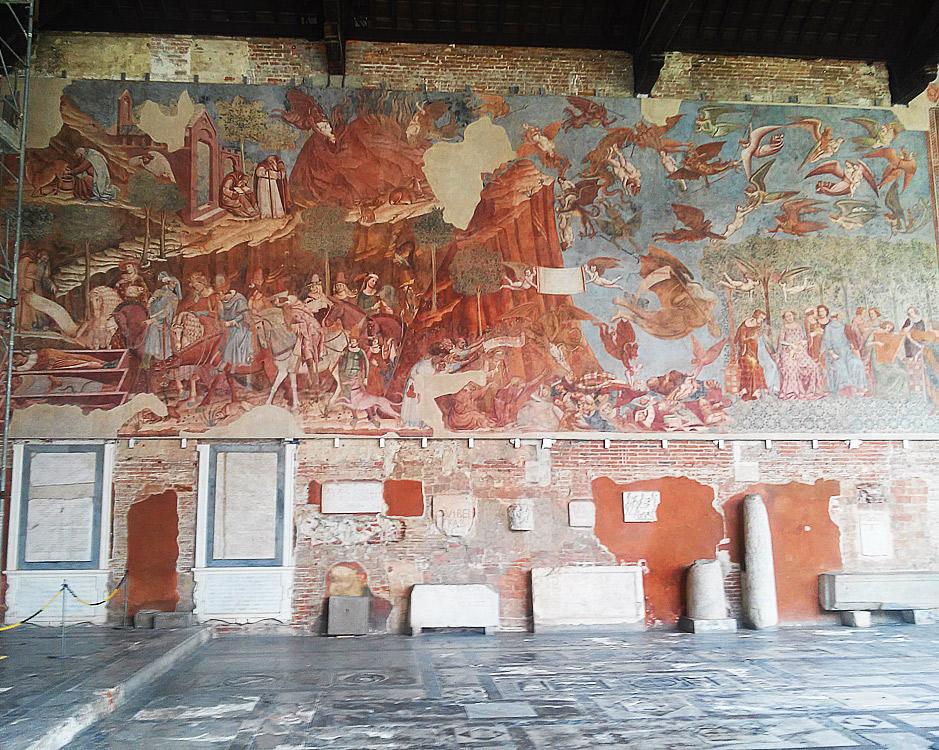 Pisa, il Trionfo della Morte di Buffalmacco torna nel Camposanto dopo oltre 70 anni d'assenza