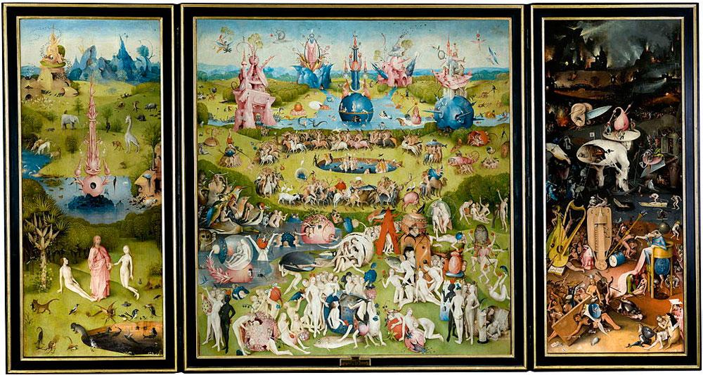 Agli Arsenali Repubblicani di Pisa è in arrivo lo spettacolo di arte digitale con opere di Bosch, Brueghel e Arcimboldo