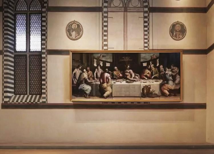 L'Ultima Cena di Vasari salva in 11 secondi: ecco lo spettacolare meccanismo anti-alluvione