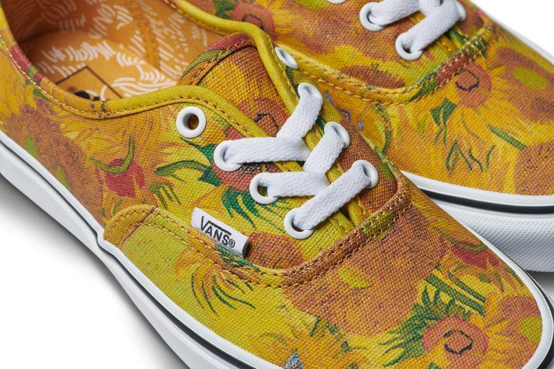 Vans lancia una collezione di scarpe ispirata a Van Gogh, in collaborazione col Van Gogh Museum