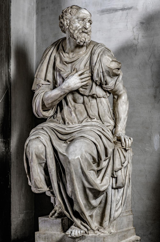 Il San Cosma di Giovanni Angelo Montorsoli. Ph. Credit Andrea Jemolo
