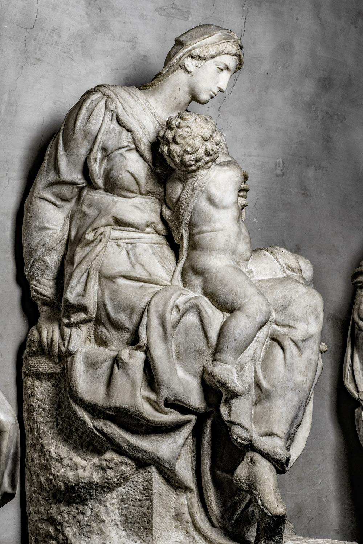 La Madonna Medici di Michelangelo. Ph. Credit Andrea Jemolo