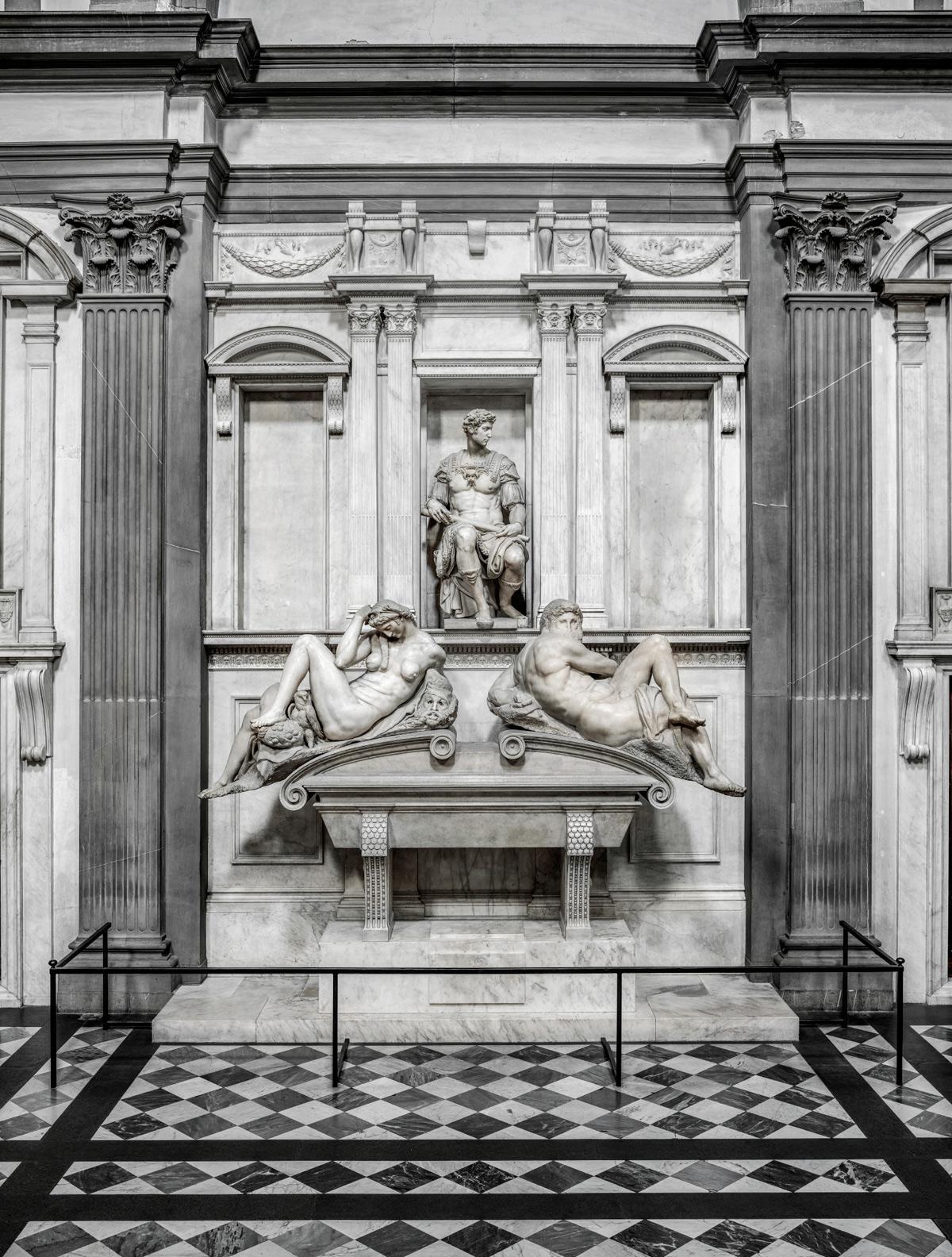 La tomba di Giuliano duca di Nemours. Ph. Credit Andrea Jemolo
