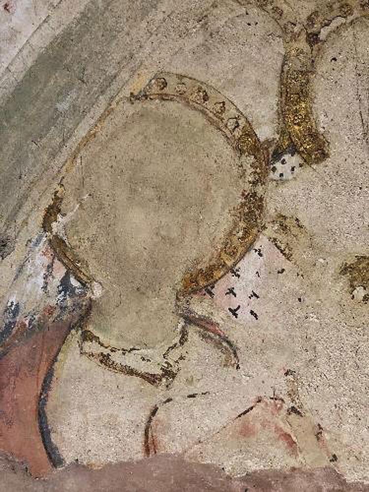 Rinvenuto nel Duomo di Siena un frammento di un antico affresco