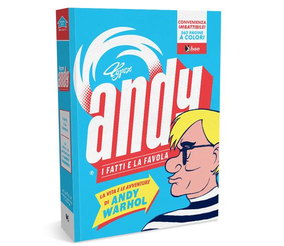 Arriva in Italia la biografia a fumetti di Andy Warhol