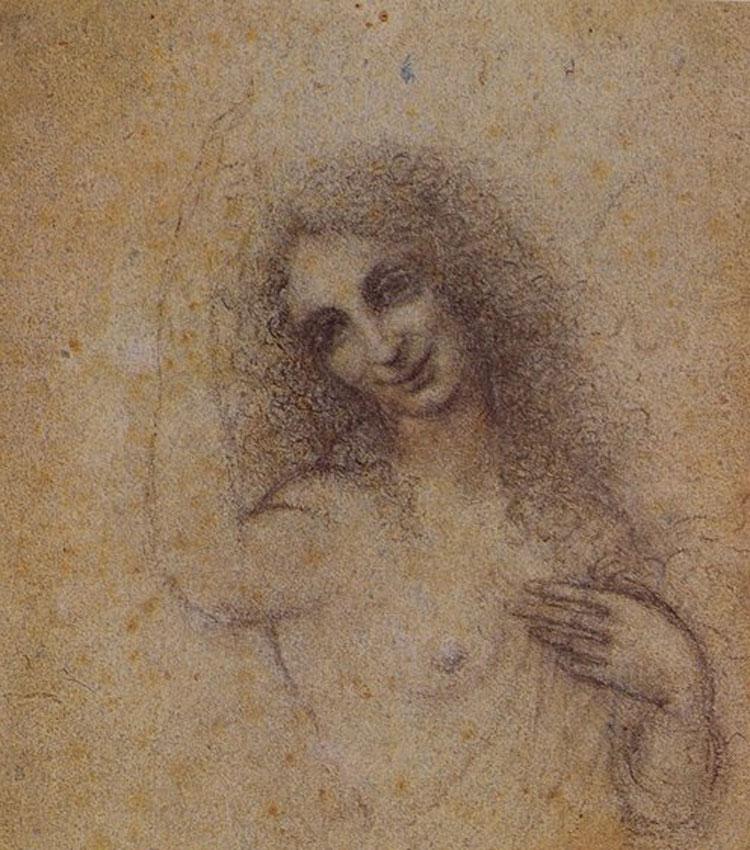 Censurato da Facebook anche l'Angelo incarnato di Leonardo da Vinci