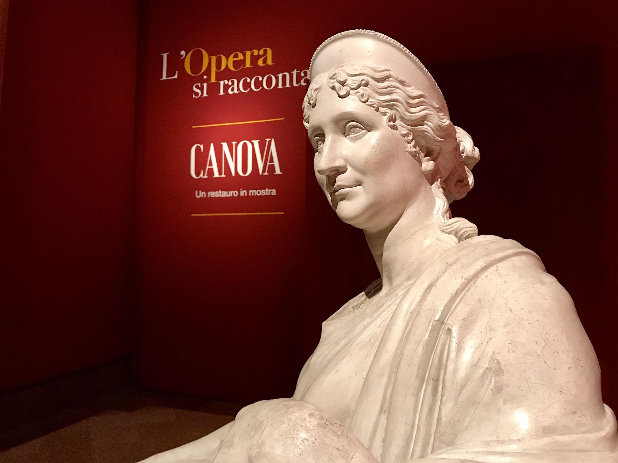 A Napoli un focus sul restauro del ritratto della madre di Napoleone eseguito da Antonio Canova