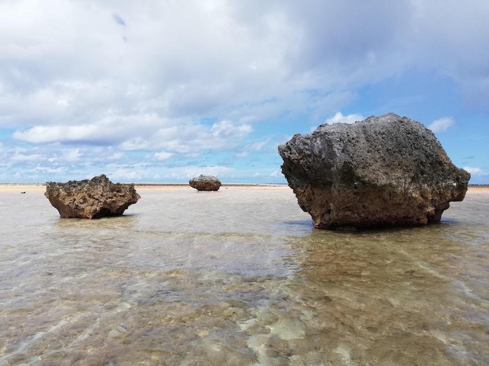 Roma, le isole Kiribati nelle sculture di Antonio Fiorentino