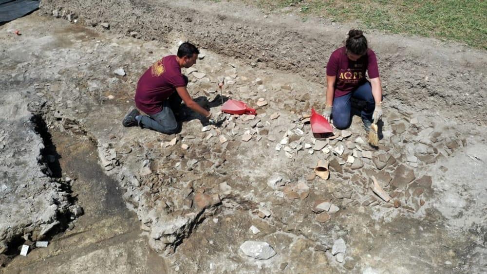 Aquileia, scoperto un grande deposito di anfore romane