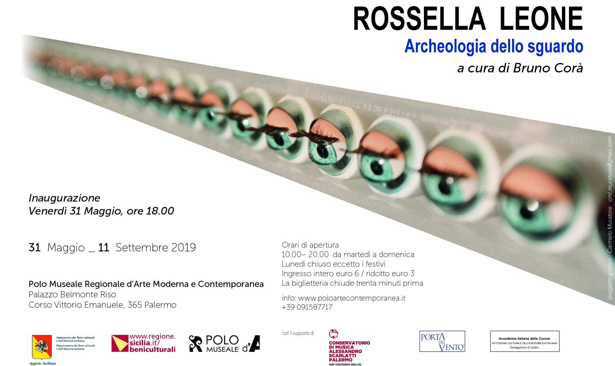 """Le opere di Rossella Leone esposte a Palermo nella mostra """"Archeologia dello sguardo"""""""