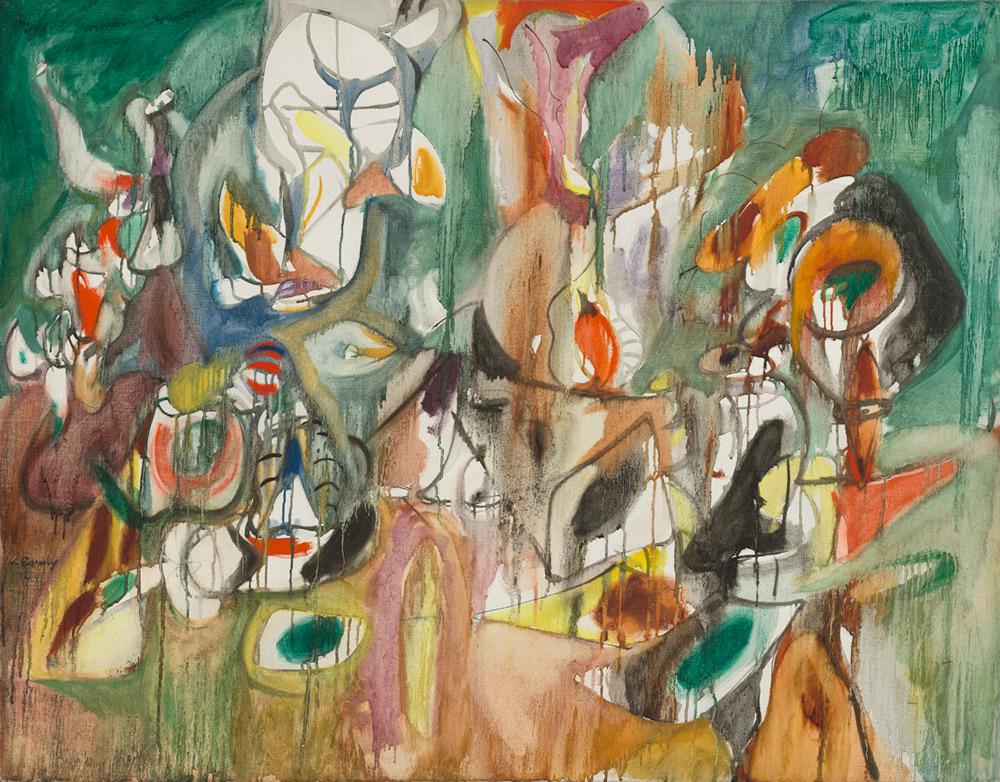 Venezia, a Ca' Pesaro la prima retrospettiva italiana su Arshile Gorky, grande esponente dell'espressionismo astratto