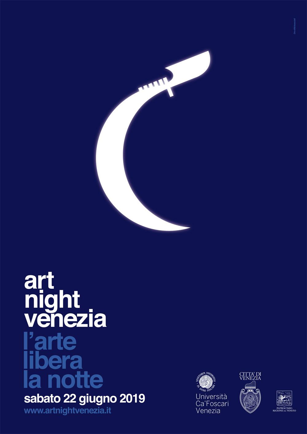Sabato 22 giugno 2019 la nona edizione dell'Art Night Venezia