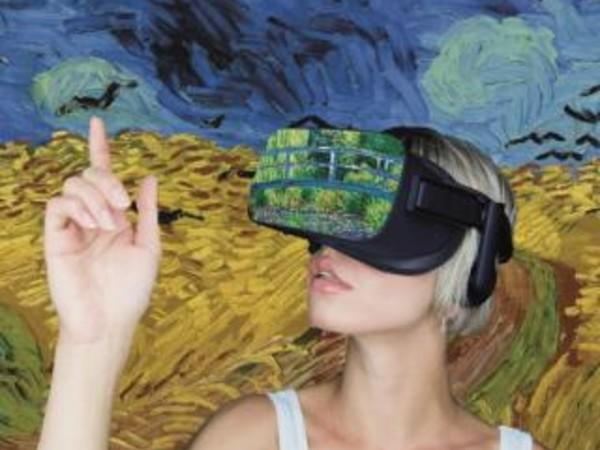 A Roma Van Gogh e Monet in realtà virtuale per vivere una giornata tipo nei panni dei due artisti