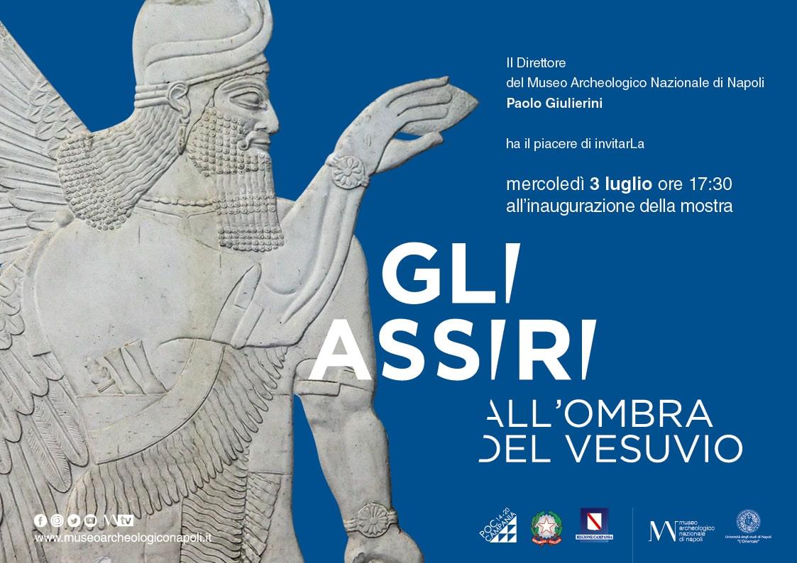 Gli assiri all'ombra del Vesuvio, la mostra al Museo Archeologico Nazionale di Napoli