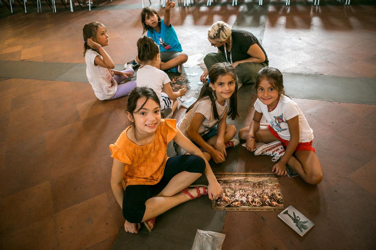 A Firenze i bambini imparano l'inglese al museo. Torna il corso d'inglese nei musei della città